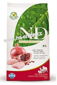 N&D GF DOG Adult Mini Chicken&Pomegranate 2,5kg