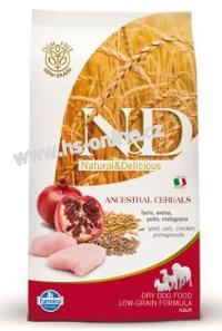 N&D LG DOG Adult Mini Chicken & Pomegranate 7 kg
