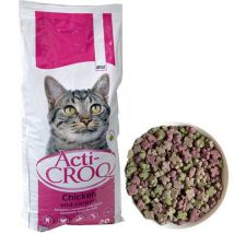 ACTI-CROQ Cat chicken & cerals 20kg 31/11